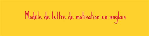 Exemple Lettre De Motivation En Anglais Pdf Lettre De Motivation En Anglais Gratuite Cv Anglais Fr