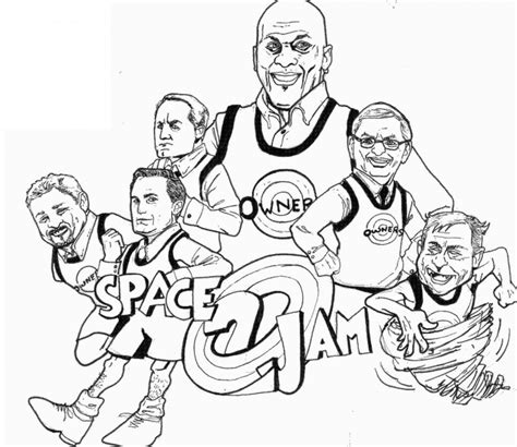 coloring pages nba basketball players space jam coloring pages coloringsuite com