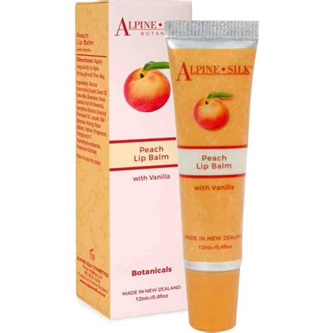 Regene Honey Lip Balm 12ml alpine silk botanicals lip balm with vanilla 12ml