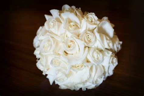 wedding bouquet white roses july 4th wedding at ritz members club flowers by