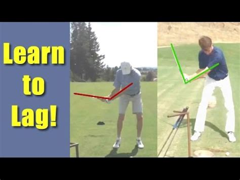 how to get lag in your golf swing dramatic student golf swing lag change get the same