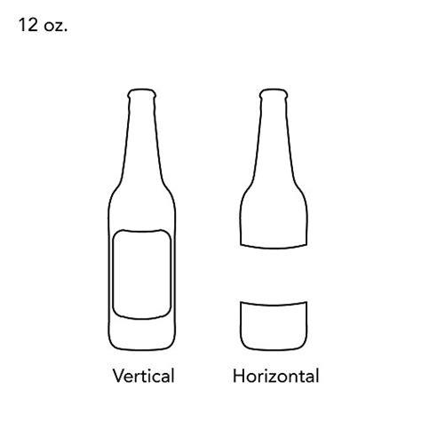 printable vinyl white 30 large beer bottle white vinyl printable labels 4x3