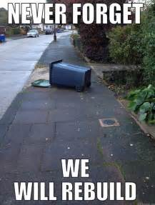 We Will Rebuild Meme - kent earthquake measuring 4 2 on the richter scale wakes