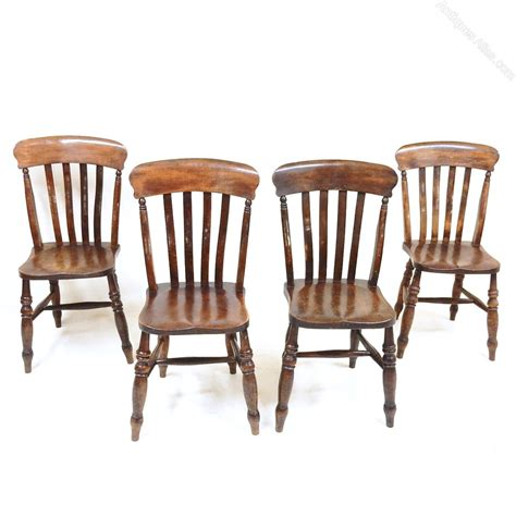 Kitchen Set 4 Chairs by Set Of 4 Kitchen Chairs Antiques Atlas