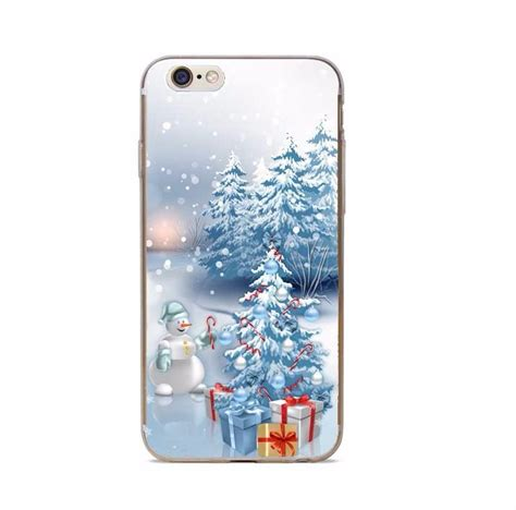 phone cases merry christmas happy  year transparent hard case cover  iphone se