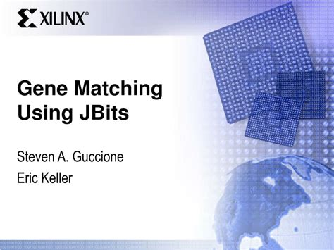 Ppt Gene Matching Using Jbits Powerpoint Presentation How To Make A Matching On Powerpoint