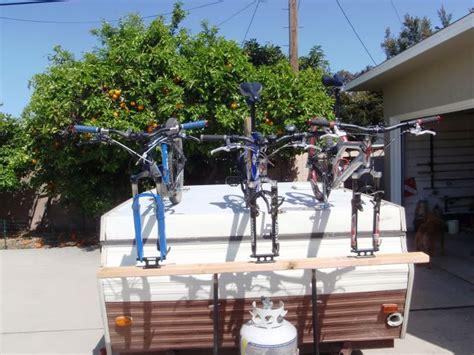 bike rack pop up cer thread bike rack for pop up