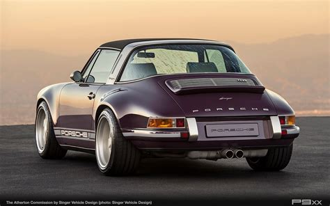 porsche purple singer atherton is one incredibly purple porsche targa p9xx
