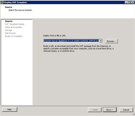 vmware template install vmware vcenter server appliance uptime through