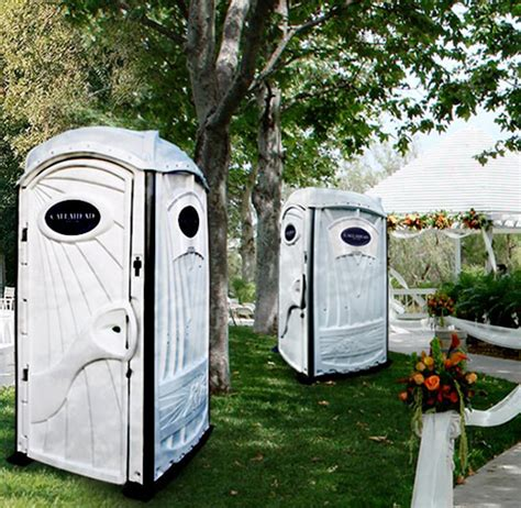 portable bathrooms for weddings rent portable toilets wedding portable toilet rentals