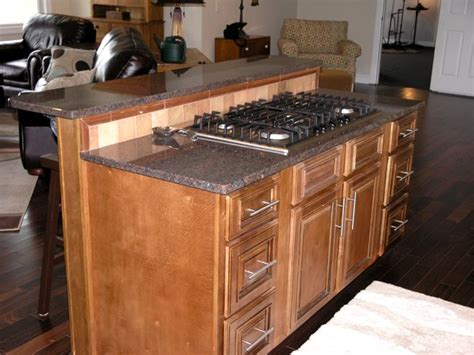 kitchen island with stove and seating cooktop bar island house ideas house dreams