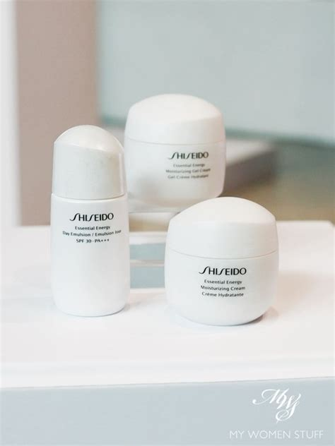 Shiseido Essential Energy hors d oeuvres shiseido essential energy