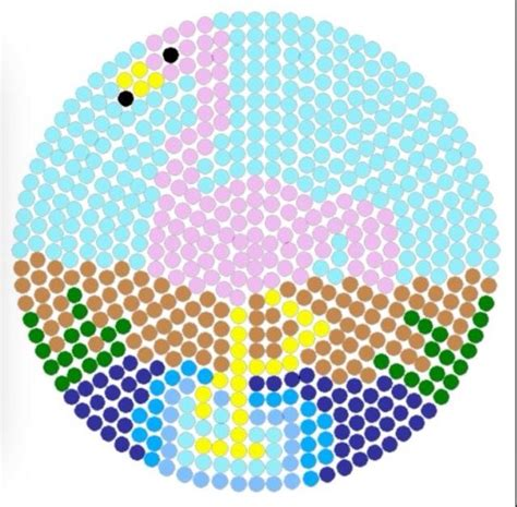 circle perler bead patterns 1000 images about diy hama on foxes