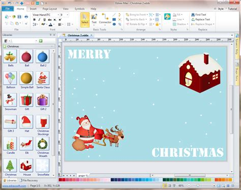 House Design Mac Os X by Easy To Use Christmas Card Maker And Editor