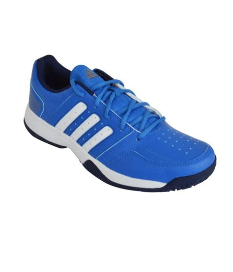 adidas blue mesh textile tennis sport shoes price in india