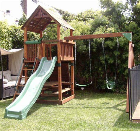 swing set ground cover backyard playground ground cover option guide install