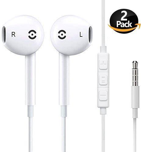 earbuds generic headphones with microphone new earphones for apple iphone 6s 6 plus 5s 5 4s 4 se