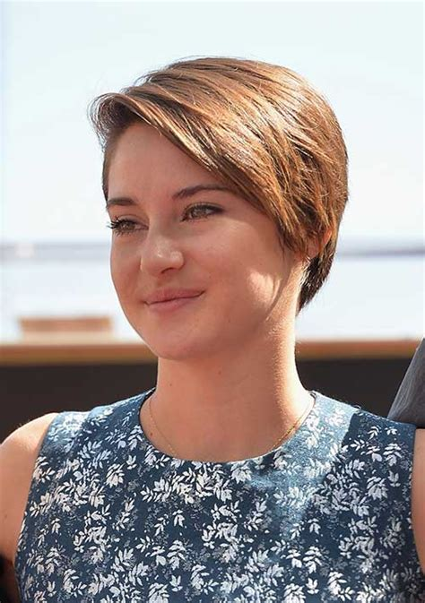 short ha 15 of shailene woodley s most gorgeous short hairstyles