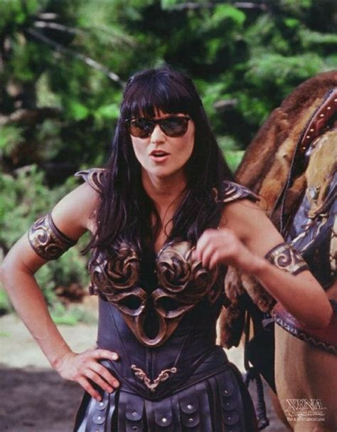 Set Xena lawless on set of quot xena warrior princess quot tv