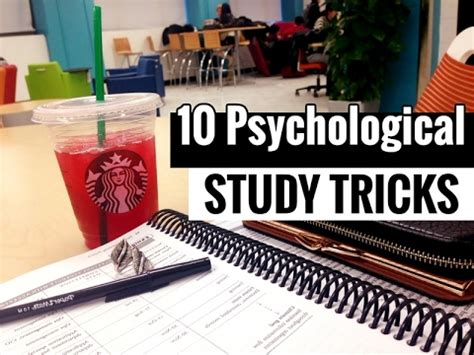 10 Tricks For Less by 10 Psychological Study Tricks To Boost Brain Power