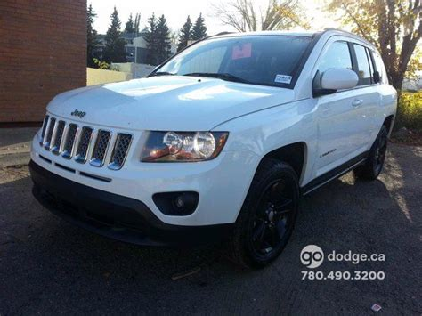 white jeep compass black rims 2015 jeep compass sport white southtown chrysler wheels ca