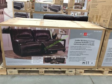 pulaski leather sofa costco reclining loveseats costco costco 465212 pulaski