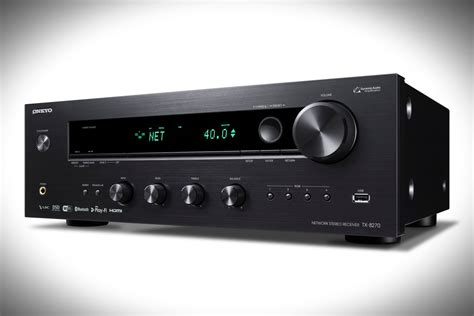 Best Home Theater Receiver Under 500 by Onkyo S Latest Stereo Receiver Supports Hi Res Audio And