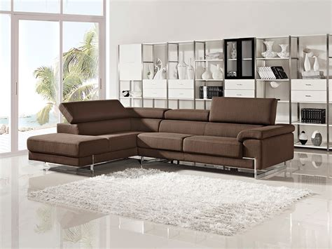 Modern Sectional Couches by Milton Modern Fabric Sectional Sofa