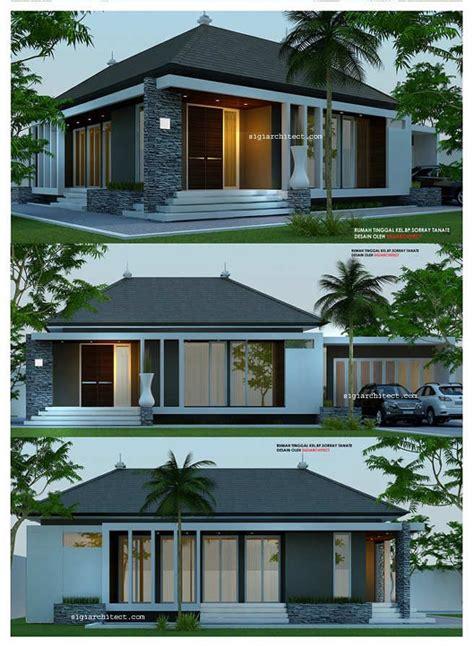 desain rumah  lantaiminimalis modern house pinterest modern