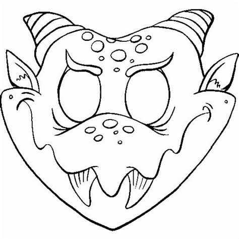 free printable witch mask template pinterest le catalogue d id 233 es
