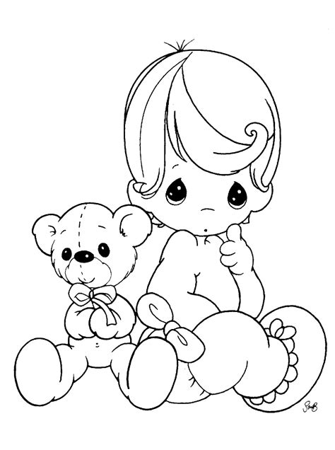 Coloring Page Baby by Free Printable Baby Coloring Pages For