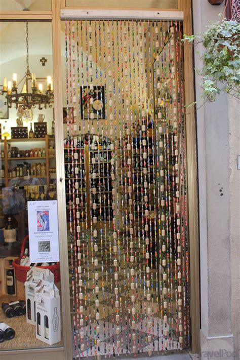 wine cork curtain diy wine cork door curtains