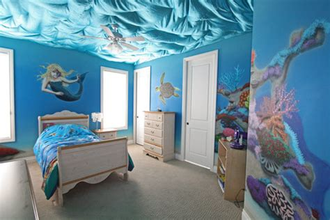 she wants baby blue on the walls i was thinking 10 bedrooms that look like they re under water