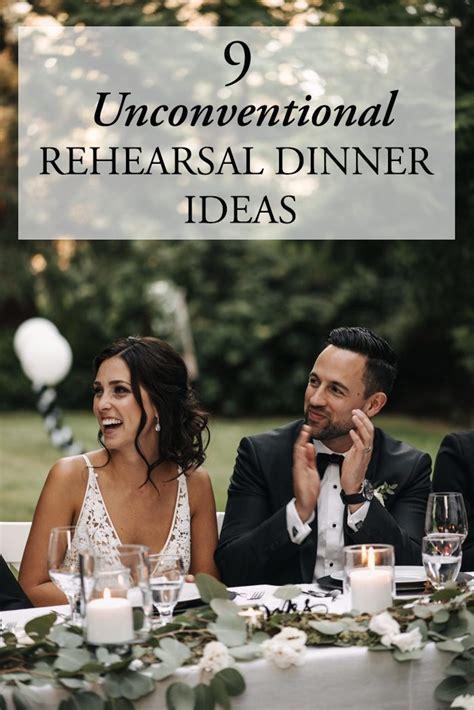 9 Unconventional Rehearsal Dinner Ideas   Junebug Weddings