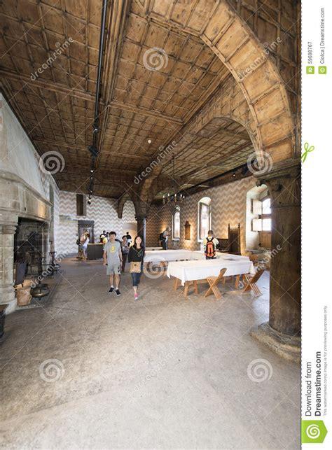 3d Interior Design by Inside The Chillon Castle Switzerland Editorial