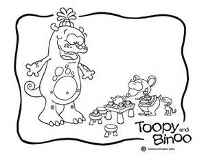 toopy amp binoo colour monster treehouse