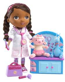 doc mcstuffins magic talkin doc friends doll is