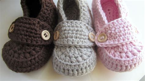 baby slippers crochet crochet baby booties cotton loafers slippers by