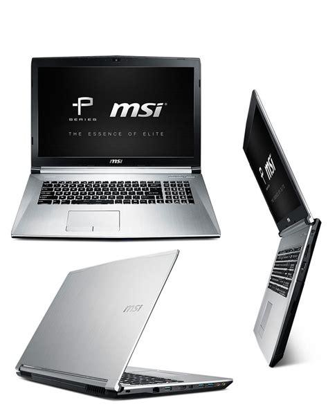 Msi Silver Series Original buy msi pe70 2qd 17 3 quot i7 professional laptop at evetech co za
