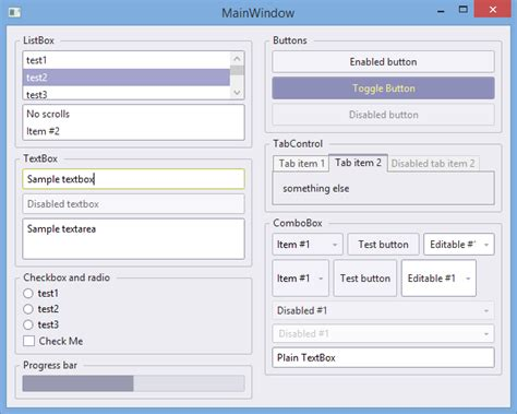 What Is Template In Wpf design where can i find free wpf controls and