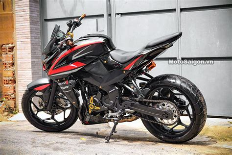 pulsar 200 ns modified bajaj pulsar ns200 modified to look like a kawasaki z1000