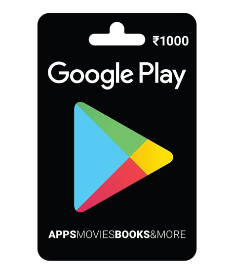 Google Play Gift Card Instant Download - buy google play gift card rs 1000 online on snapdeal