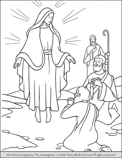 coloring pages of the joyful mysteries joyful mysteries rosary coloring page coloring pages