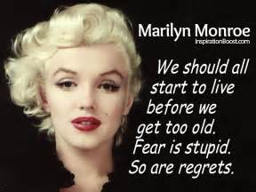 Where Did Marilyn Monroe Live by Marilyn Monroe Quotes Quotesgram