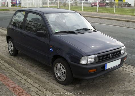 Suzuki Alto 1998 Suzuki 1994 Alto The History Of Cars Cars