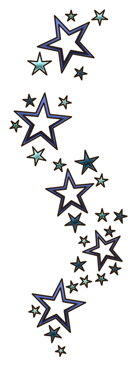 negative stars tattoo designs best 25 tattoos ideas on no outline
