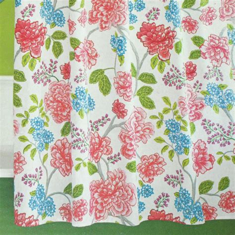 target shower curtains fabric target home multifloral fabric shower curtain