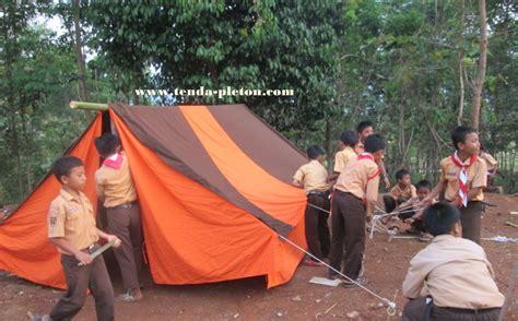 Tenda Pleton Pramuka jual tenda pramuka praktis peralatan berkemah harga murah jakarta oleh tenda pleton