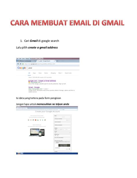 Membuat Email Website | cara membuat email related keywords keywordfree com