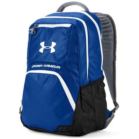 under armoir backpack under armour exeter backpack in blue for men lyst